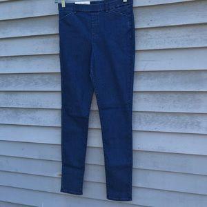 Pants - NWT Uniqlo Heattech Blue high-rise leggings Medium